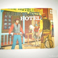 Figuras de Goma y PVC: MONTAPLEX SOBRE Nº 453 POBLADOS DEL OESTE HOTEL - VACÍO A ESTRENAR - NUNCA RELLENADO. Lote 102372011