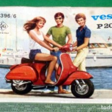 Figuras de Goma y PVC: VESPA P200 E GRISONI CAJITA TIPO MONTAPLES ITALIA AÑO 1883 . Lote 106228238
