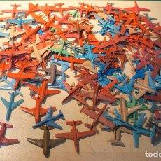 Figuras de Goma y PVC: ESPECTACULAR LOTE DE 150 AVIONES MONTAPLEX. Lote 105621315