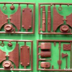 Figuras de Goma y PVC: SOLDADITOS Y FIGURAS DE 6 CTMS -4329 10 ANIVERSARIO. Lote 105961647