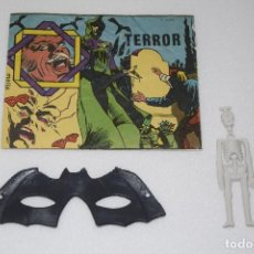 Figuras de Goma y PVC: HOBBY-PLAST - TERROR - Nº 1024 - AÑOS 70 TIPO MONTAPLEX - DIFÍCIL!. Lote 110239147