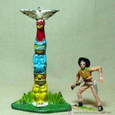 Figuras de Goma y PVC: MUY RARO, COMPLEMENTO, TOTEM DE GOMA, PECH HERMANOS. Lote 18577109