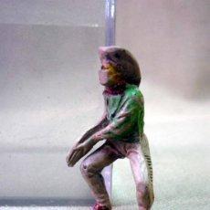 Figuras de Goma y PVC: RARA FIGURA DE PLASTICO, VAQUERO, COW BOY, SERIE 5,5 CM, FABRICADO POR PECH, 1970S. Lote 33582996