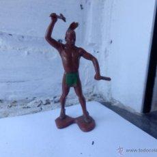 Figuras de Goma y PVC: INDIO HURON 8 CM TAMAÑO LAFREDO. Lote 51554862