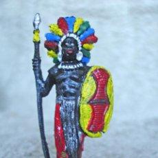 Figuras de Goma y PVC: FIGURA DE UN NEGRO DE SAFARI SELVA. Lote 52763923