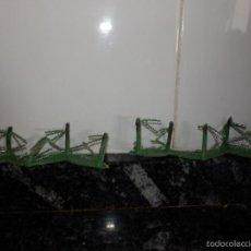 Figuras de Goma y PVC: TRINCHERAS PVC GUERRA MUNDIAL DE LA CAJA DUNKERKE. Lote 58393561