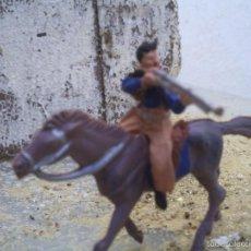 Figuras de Goma y PVC: VAQUERO DE PECH. Lote 58486162