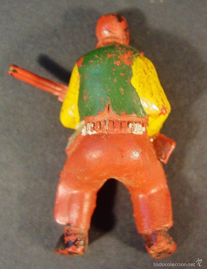 Figuras de Goma y PVC: CARRETA PECH EN MADERA, GOMA Y PLÁSTICO. AÑOS 50. CON SU CAJA. - Foto 10 - 59955927