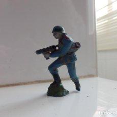 Figuras de Goma y PVC: ALEMAN EN GOMA GUERRA MUNDIAL PECH ALEMANES EN COMBATE. Lote 63310676