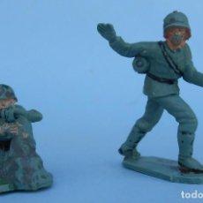 Figuras de Goma y PVC: SOLDADOS ALEMANES DE PECH HERMANOS.JECSAN. REAMSA. Lote 68559493