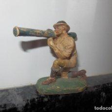 Figuras de Goma y PVC: ANTIGUA FIGURA DE GOMA PECH GUERRA MUNDIAL BRITANICOS JECSAN. Lote 75312187
