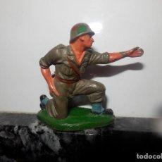 Figuras de Goma y PVC: ANTIGUA FIGURA DE GOMA PECH GUERRA MUNDIAL SERVIDOR JECSAN. Lote 75312531