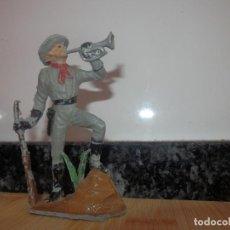 Figuras de Goma y PVC: FIGURA SOLDADO AMERICANO PVC PECH SUDISTA CONFEDERADOS. Lote 79491805