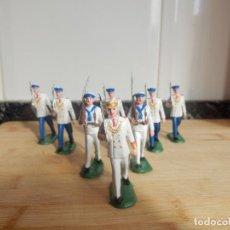 Figuras de Goma y PVC: FIGURAS DESFILE MARINA DE GALA PECH PVC. Lote 83459912