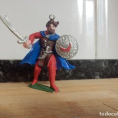 Figuras de Goma y PVC: FIGURA SARRACENO MUSULMAN MORO PECH . Lote 83460840