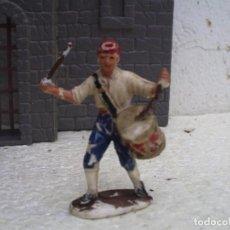 Figuras de Goma y PVC: EL TAMBOLIRERO DE BRUCH DE LA INDEPENDENCIA DE PECH. Lote 87638004