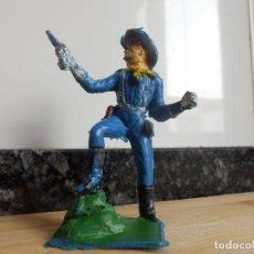 Figuras de Goma y PVC: FIGURA SOLDADO YANQUI AMERICANO NORDISTA CONFEDERADOS PECH AÑOS 60 . Lote 89287908