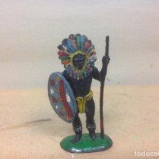 Figuras de Goma y PVC: FIGURA AFRICANO PECH HERMANOS GOMA - NEGRO HERMANOS PECH DE GOMA AÑOS 50 . Lote 92977240