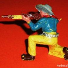 Figuras de Goma y PVC: COWBOY CUATRERO SERIE OESTE SALVAJE, FABRICADO EN PLÁSTICO, PECH, ORIGINAL AÑOS 60.. Lote 93627965