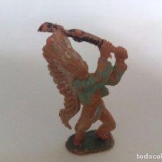 Figuras de Goma y PVC: FIGURA INDIO PECH HNOS AÑOS 60. Lote 94323834