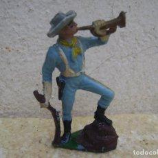 Figuras de Goma y PVC: SOLDADO DE LA BATALLA DEL LITTER BING HORN DE DE PECH. Lote 95615311