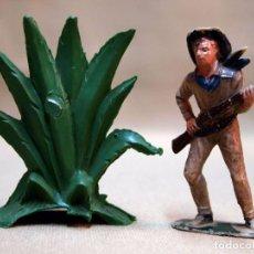 Figuras de Goma y PVC: COMPLEMENTO FIGURA DE PLASTICO, PLANTA GRANDE, 7 CM, FABRICADO POR PECH, 1970S. Lote 103365315