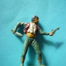 Figuras de Goma y PVC: FIGURA PIRATA PECH GOMA. Lote 104203103