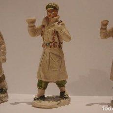 Figuras de Goma y PVC: LOTE 3 FIGURAS PVC REAMSA GOMARSA DESFILE REGIMIENTO ESQUIADORES EPOCA JECSAN PECH TEIXIDO COMANSI. Lote 109385515