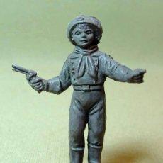Figuras de Goma y PVC: RARA FIGURA PLASTICO, QUIOSCO, PIPERO, CABO RUSTY, JAVI, REIGON ? COMANSI ?, . Lote 15987155