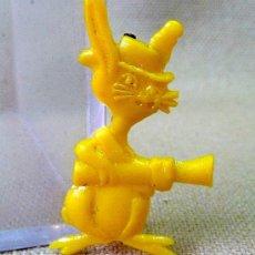 Figuras de Goma y PVC: PREMIUM PIPAS CHURRUCA, PIN DE PLASTICO, PERSONAJE WARNER, PIPERO, REGALO CHURRUCA, 1960S. Lote 24459387