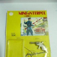 Figuras de Goma y PVC: PISTOLA MINI INTERPOL DE METAL. Lote 50675212