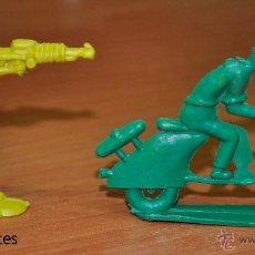 Figuras de Goma y PVC: DOS FIGURAS PLANAS EN PLÁSTICO MONOCOLOR DE PIPERO. Lote 54521574
