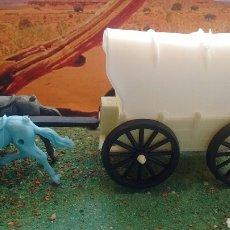Figuras de Goma y PVC: ANTIGUA CARAVANA DEL OESTE. CANAL PIPERO. AÑOS 70.. Lote 68289545