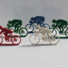 Figuras de Goma y PVC: LOTE DE CICLISTAS. Lote 75926703