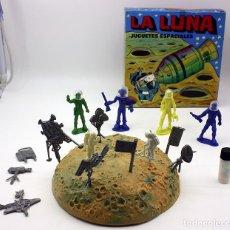Figuras de Goma y PVC: LA LUNA, JUGUETES ESPACIALES - CAJA ASTRONAUTAS. KIOSCO, PIPERO, TIPO MONTAPLEX. NUEVO. MUY DIFICIL. Lote 89695272