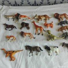 Figuras de Goma y PVC: LOTE DE 18 FIGURAS DE ANIMALES DE PVC. Lote 92184274