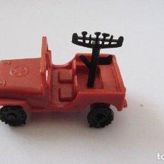 Figuras de Goma y PVC: JEEP DE PLASTICO. Lote 103537523