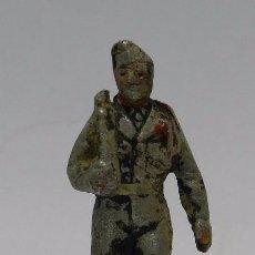 Figuras de Goma y PVC: FIGURA DE MILITAR DE ALUMINIO POSIBLEMENTE QUIRALU, TAL COMO SE VE EN LAS FOTOGRAFIAS PUESTAS.. Lote 48569692