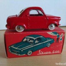 Figuras de Goma y PVC: COCHE VESPA 400 DE QUIRALU, NUEVO EN CAJA,. Lote 76951805