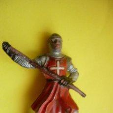Figuras de Goma y PVC: REAMSA MEDIEVAL GOMA AÑOS 50. Lote 26893292