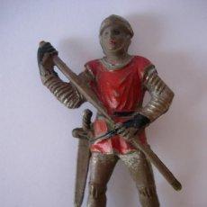 Figuras de Goma y PVC: FIGURA MEDIEVAL DE REAMSA EN GOMA. Lote 27024796