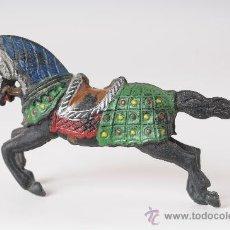 Figuras de Goma y PVC: CABALLO MEDIEVAL, GOMA, REAMSA, AÑOS 50. Lote 26524336
