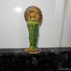 Figuras de Goma y PVC: INDIO JECSAN JEFE TRIBU INDIA REAMSA. Lote 56500185