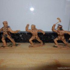 Figuras de Goma y PVC: FIGURAS PVC TRAMPEROS CANADA. Lote 60100035