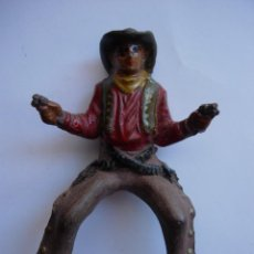 Figuras de Goma y PVC: FIGURA VAQUERO REAMSA GOMA. Lote 66115026