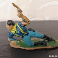 Figuras de Goma y PVC: SOLDADO SÉPTIMO CABALLERÍA REAMSA. Lote 76807699