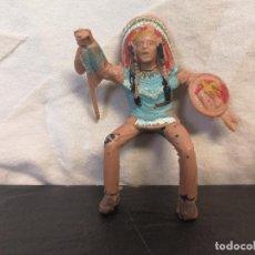 Figuras de Goma y PVC: JINETE INDIO REAMSA LITTLE BIG HORN . Lote 76812503