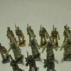 Figuras de Goma y PVC: 14 SOLDADOS REAMSA,JECSAN,PECH,SEGUNDA GUERRA MUNDIAL. Lote 77652939