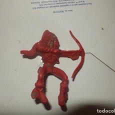 Figuras de Goma y PVC: FIGURA INDIO JECSAN LAFREDO OESTE PECH AÑOS 50 ORIGINAL. Lote 78667861
