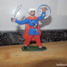 Figuras de Goma y PVC: FIGURA PVC AÑOS 60 REAMSA SERIE MIO CID ARABES CRISTIANOS MEDIEVALES MOROS. Lote 86337512